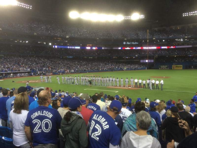 Rogers Centre, section: 115L, row: 16, seat: 101