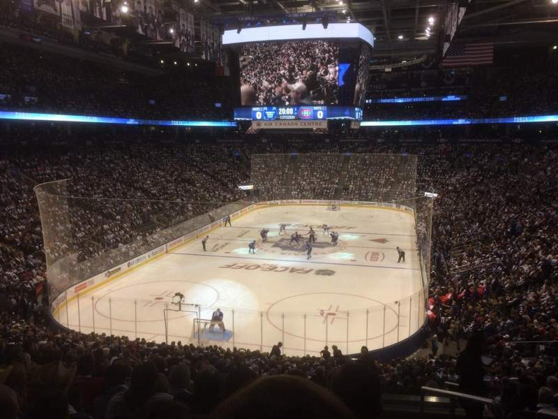 Seating view for Air Canada Centre Section 102 Row 32 Seat 1