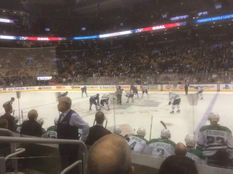 Seating view for Air Canada Centre Section 118 Row 6 Seat 21