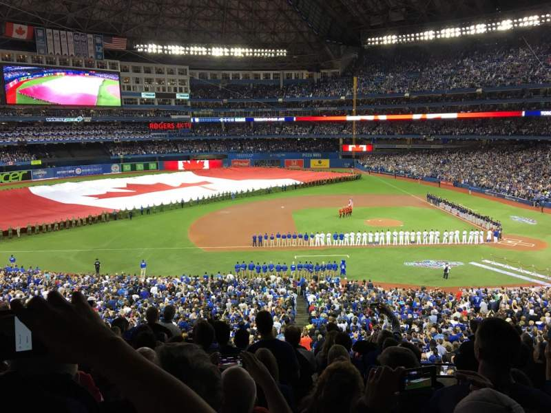 Seating view for Rogers Centre Section 230L Row 10 Seat 101
