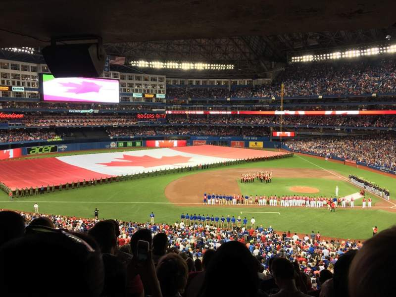 Rogers Centre, section: 230L, row: 12, seat: 101