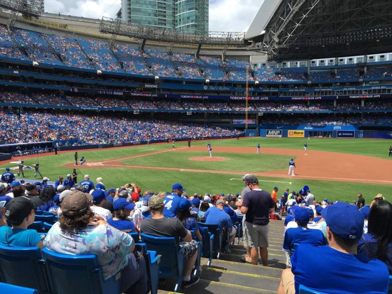 Seating view for Rogers Centre Section 116R Row 28 Seat 1