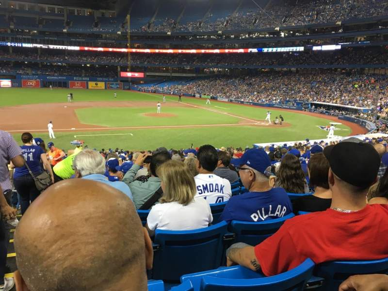 Rogers Centre, section: 127R, row: 32, seat: 1