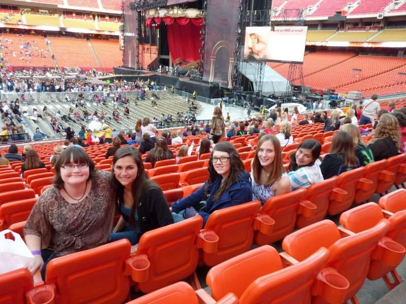 Concert photos at Arrowhead Stadium.