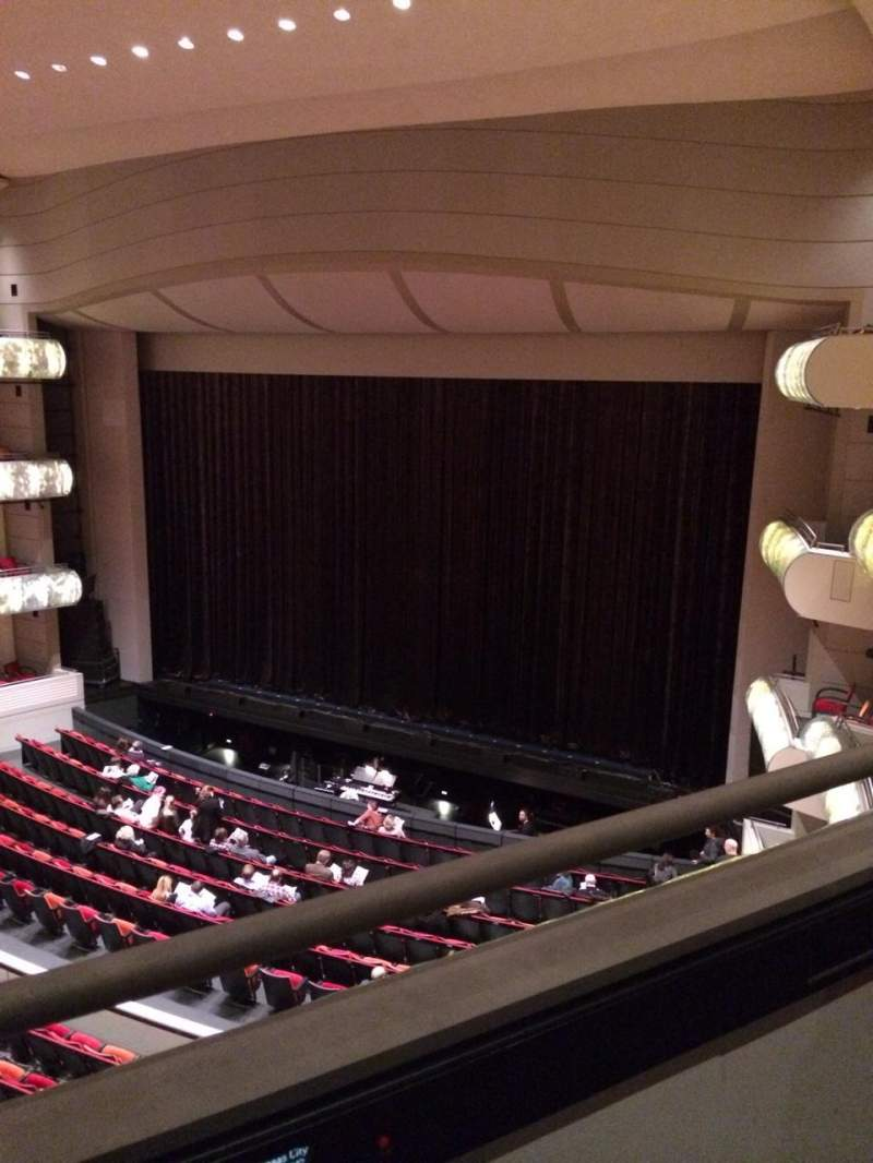 Seating view for Kauffman Center for Performing Arts Section Tier-R Row AAA Seat 813