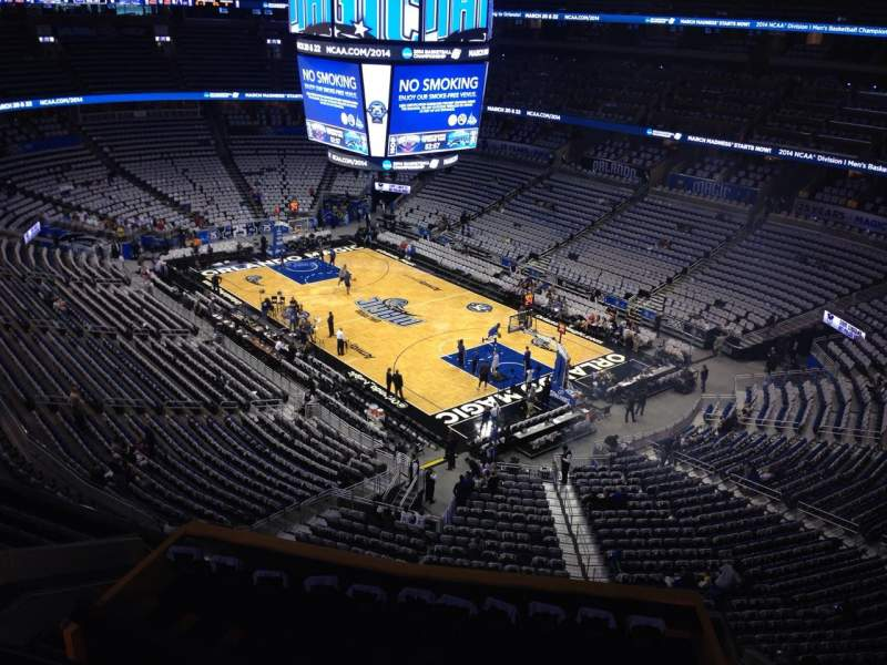 Seating view for Amway Center Section 204 Row 1 Seat 18