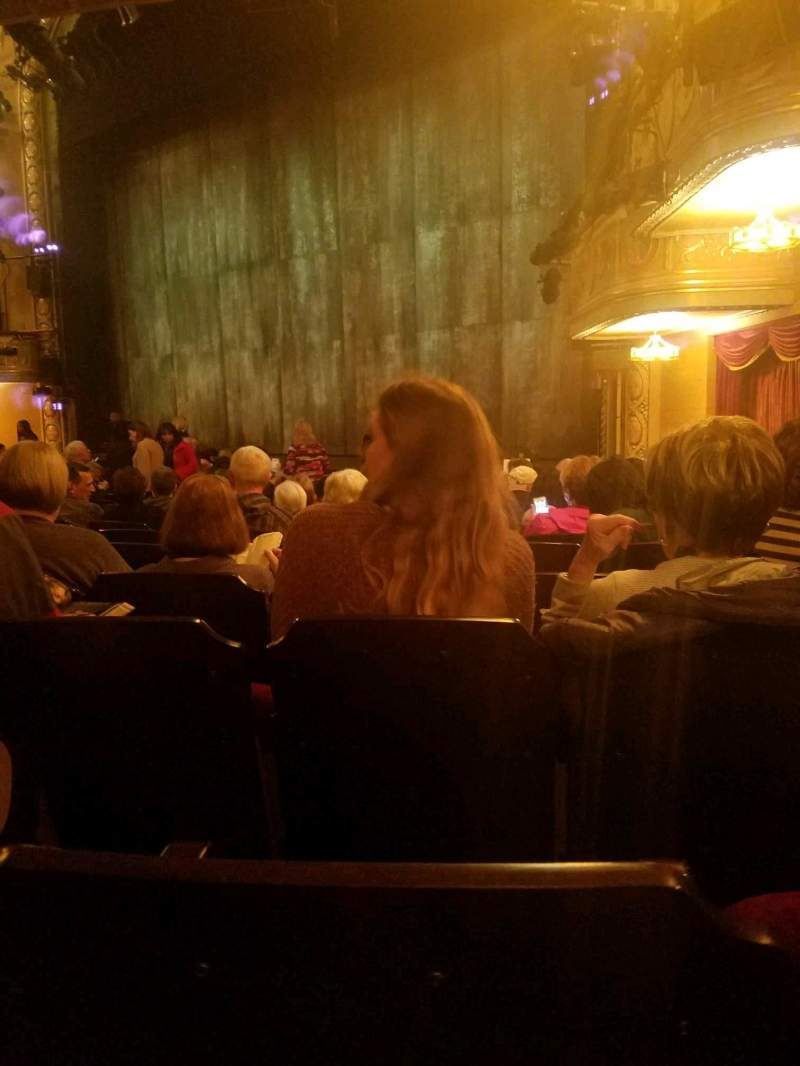Seating view for Bernard B. Jacobs Theatre Section Orchestra R Row n Seat 26
