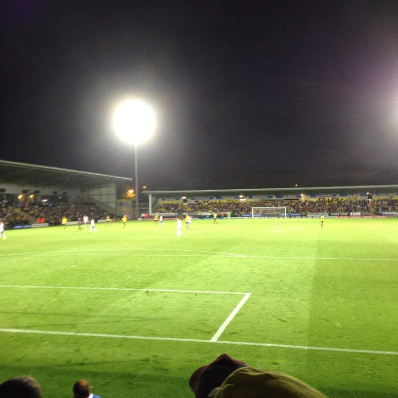 Seating view for Pirelli Stadium Section Visitors