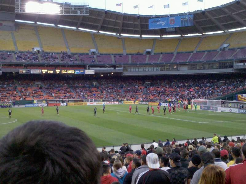 Seating view for Rfk Stadium Section 233 Row 9 Seat 4