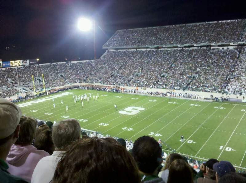 Seating view for Spartan Stadium Section 121