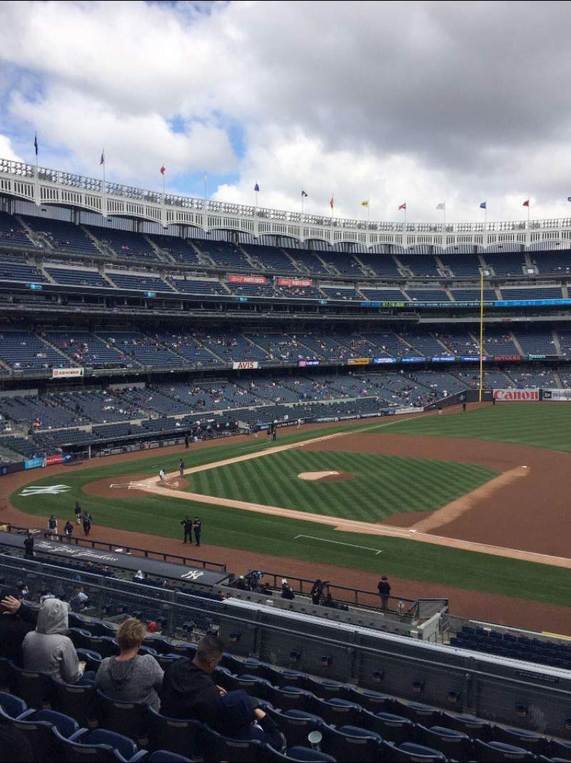 Seating view for Yankee Stadium Section 214A Row 14 Seat 5