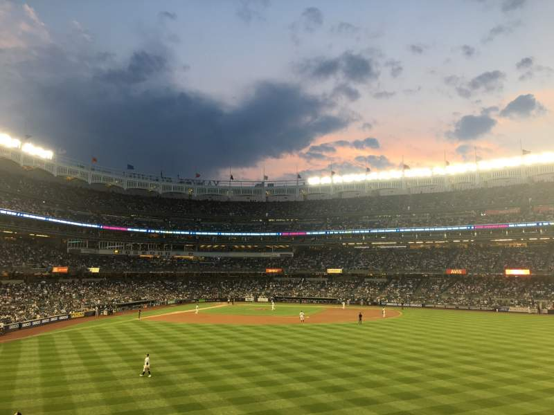 Seating view for Yankee Stadium Section 203 Row 5 Seat 2