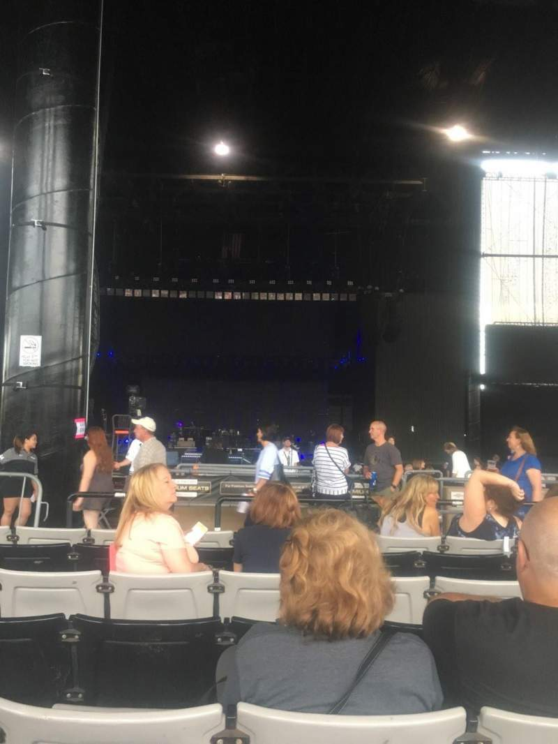 Seating view for Hollywood Casino Amphitheatre (Tinley Park) Section 204 Row RR Seat 44