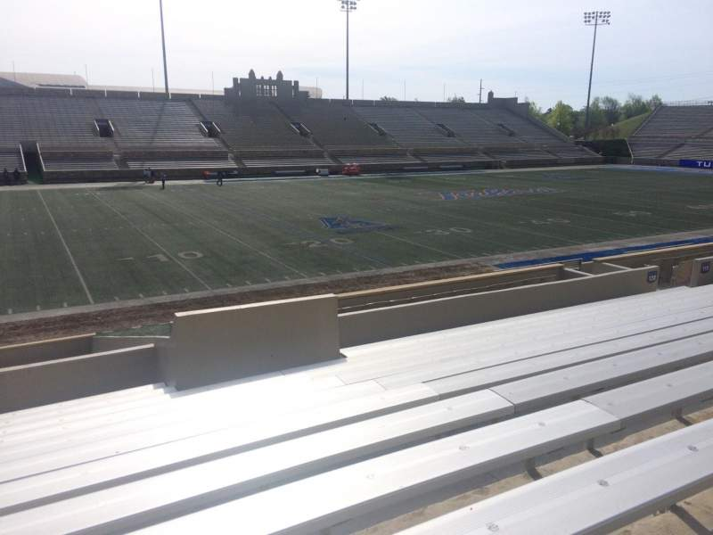 Seating view for H. A. Chapman Stadium Section 120 Row 10 Seat 22