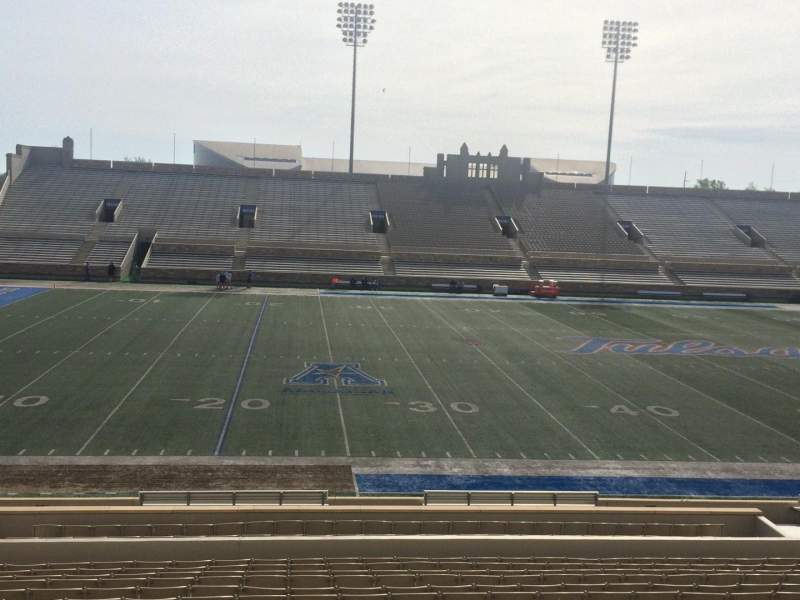 Seating view for H. A. Chapman Stadium Section 119 Row 15 Seat 22