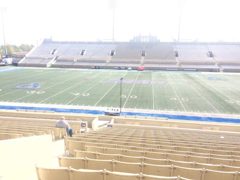 H. A. Chapman Stadium, section: 118, row: 23, seat: 23