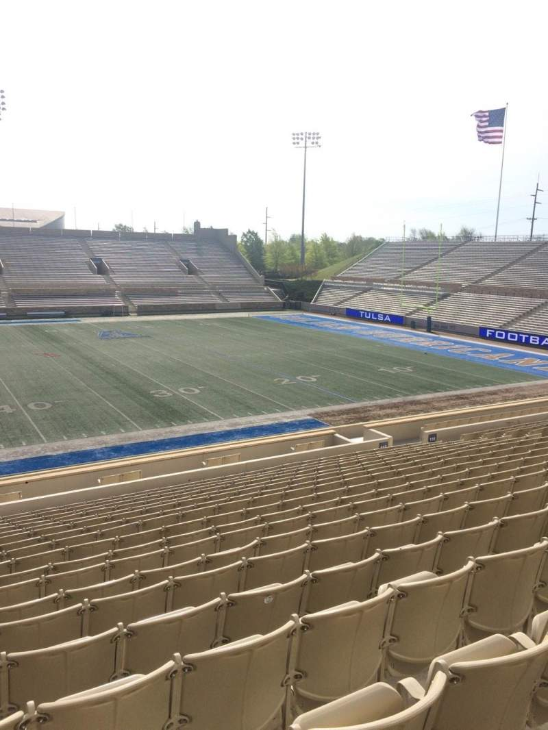 Seating view for H. A. Chapman Stadium Section 117 Row 10 Seat 16