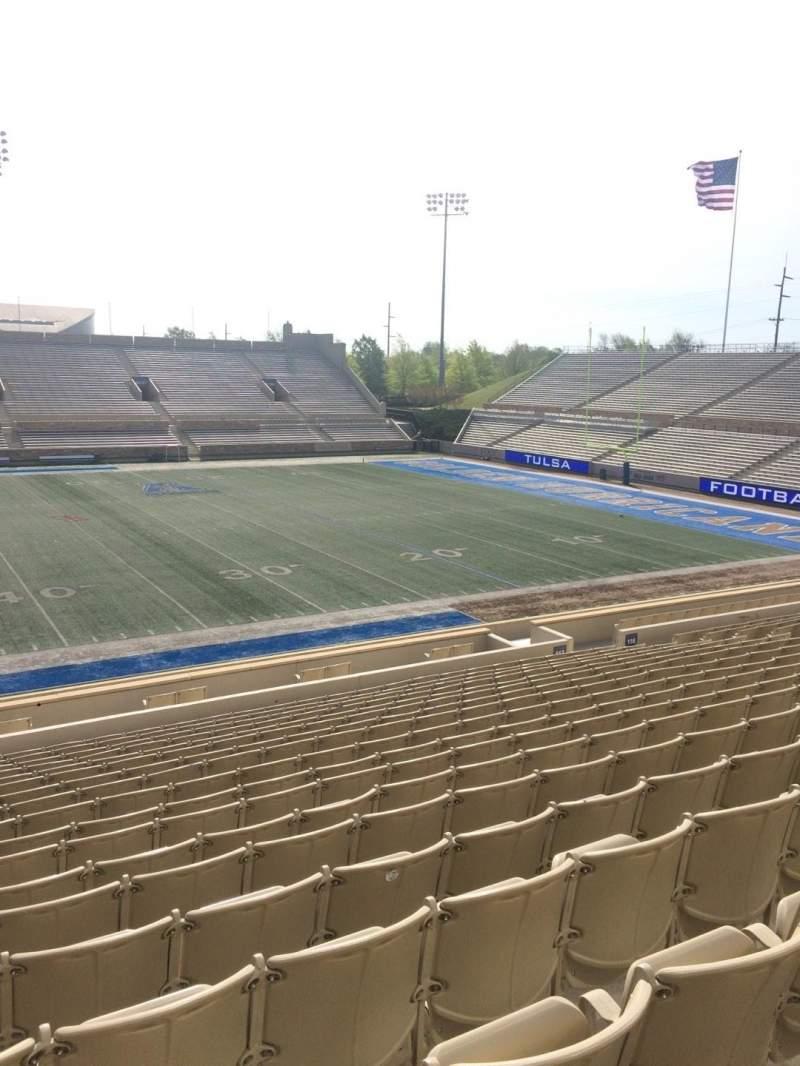 H. A. Chapman Stadium, section: 117, row: 10, seat: 16