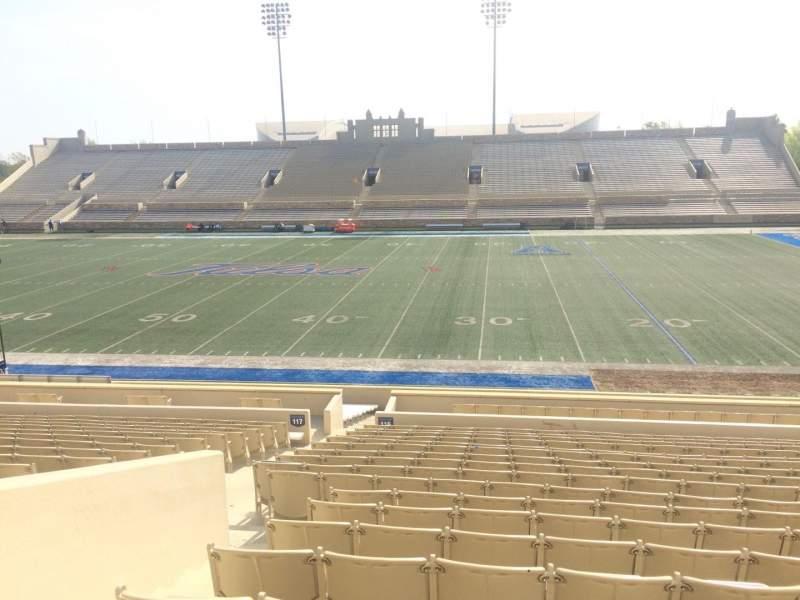 H. A. Chapman Stadium, section: 116, row: 15, seat: 15