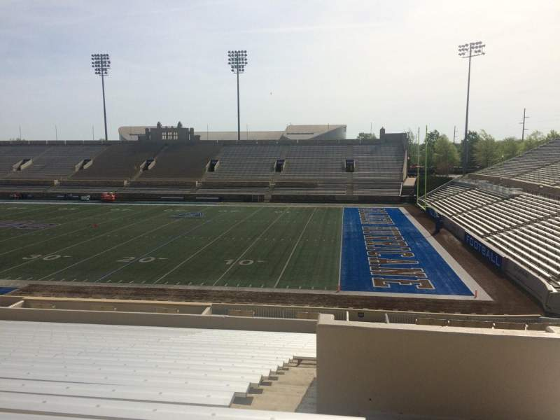 Seating view for H. A. Chapman Stadium Section 115 Row 37 Seat 1