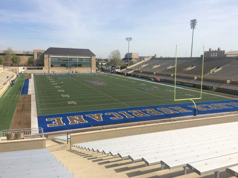 Seating view for H. A. Chapman Stadium Section 113 Row 35 Seat 1