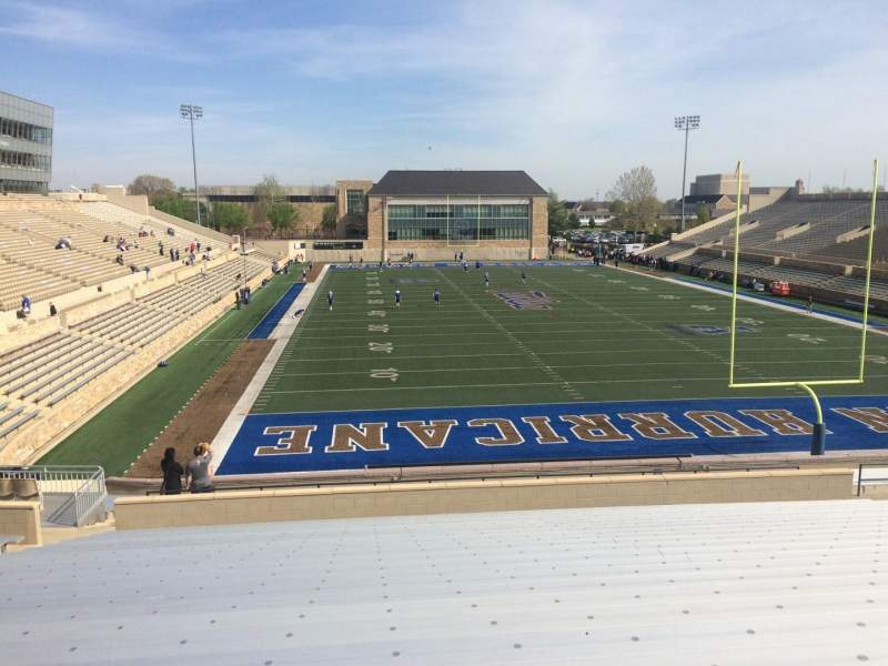 Seating view for H. A. Chapman Stadium Section 112 Row 39 Seat 12