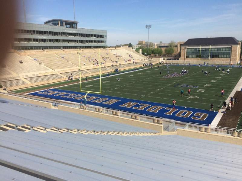 Seating view for H. A. Chapman Stadium Section 109 Row 46 Seat 26