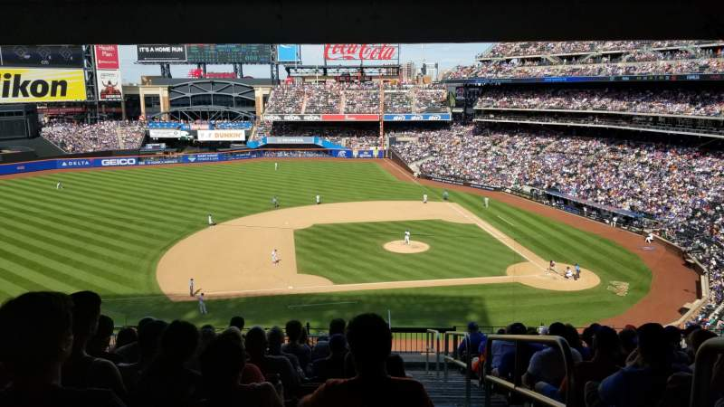Seating view for Citi Field  Section 327 Row 12 Seat 1