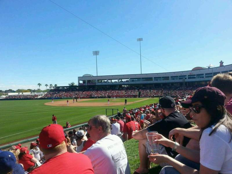 Seating view for Tempe Diablo Stadium Section Lawn