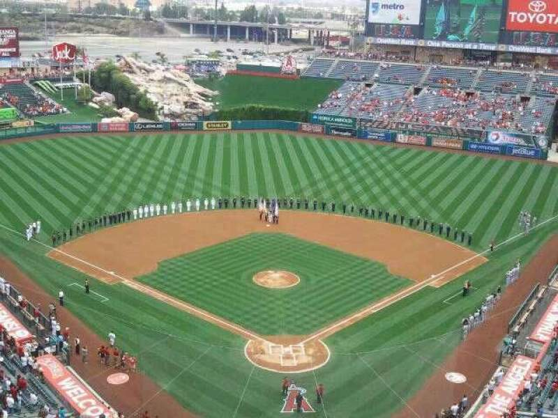 Seating view for Angel Stadium