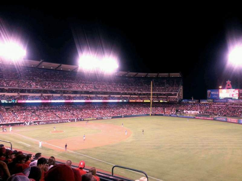 Seating view for Angel Stadium Section C343 Row F Seat 5