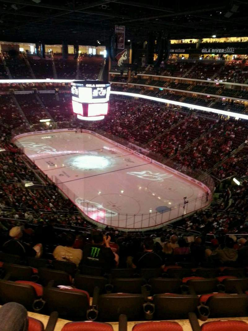 Gila River Arena, section: 226, row: N, seat: 10