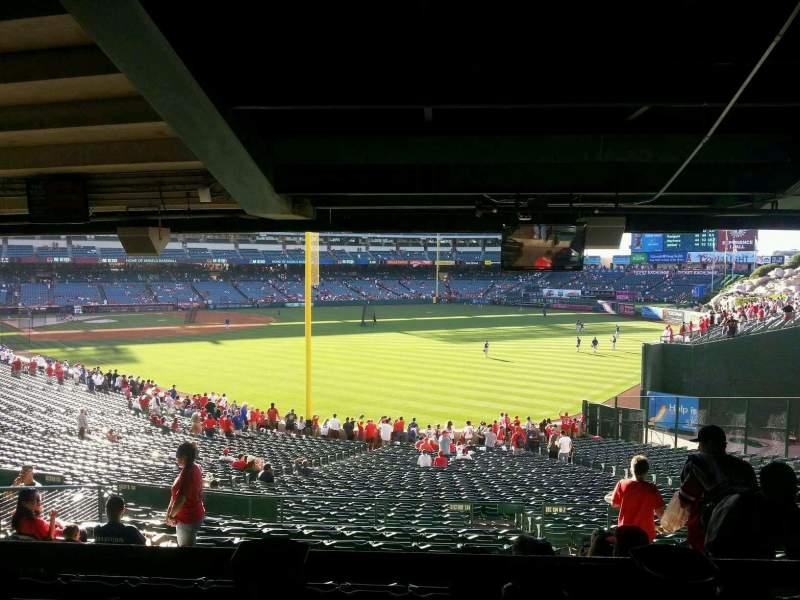 Angel Stadium, section: T231, row: SA, seat: 14