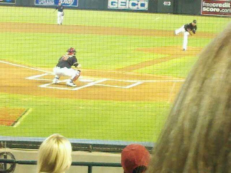 Seating view for Chase Field Section J Row I Seat 9
