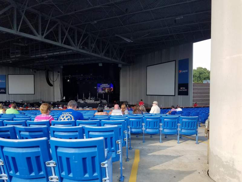 Seating view for PNC Music Pavilion Section 5 Row Y Seat 3