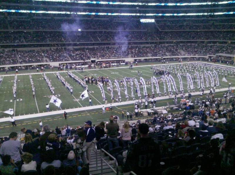 Seating view for AT&T Stadium Section C238 Row 13 Seat 1