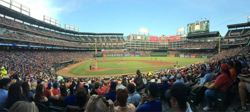Globe Life Park in Arlington, section: 30, row: 23, seat: 12