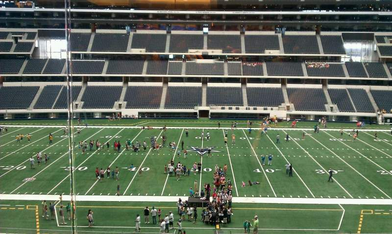 Seating view for AT&T Stadium Section Suite