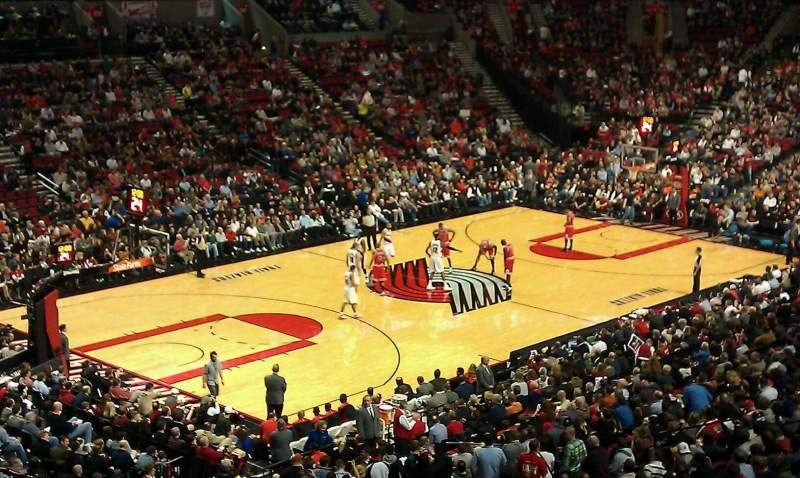 Seating view for Moda Center
