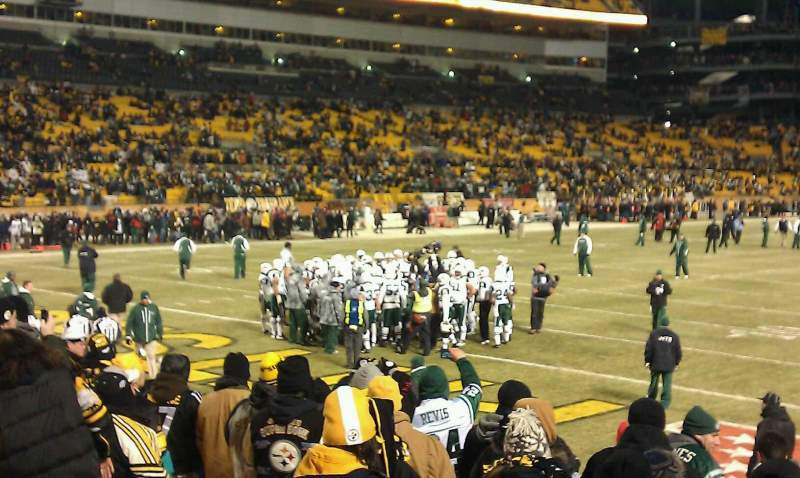 Seating view for Heinz Field Section 125 Row C Seat 5