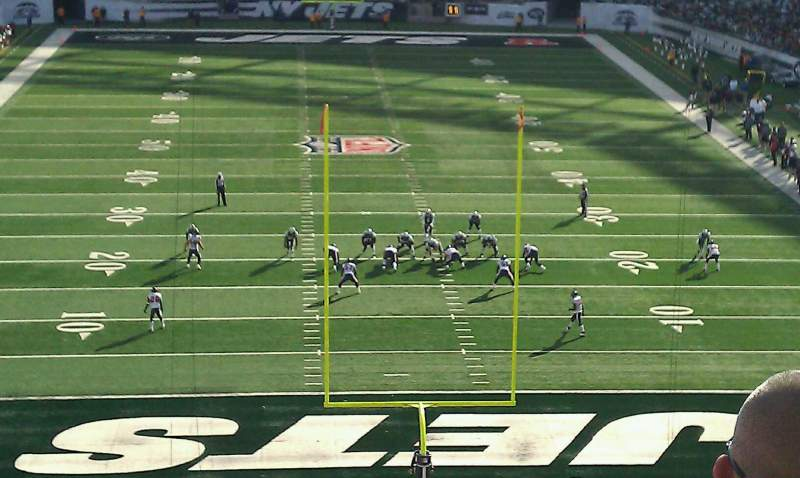 Seating view for MetLife Stadium Section 101 Row 40 Seat 14