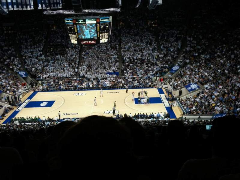 Seating view for Marriott Center Section 106 Row 15 Seat 8