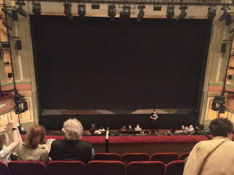 Seating view for Neil Simon Theatre Section Front Mezzanine C Row E Seat 111