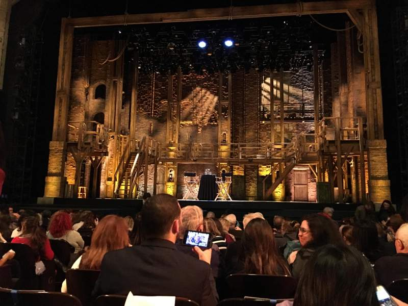 Seating view for Orpheum Theatre (San Francisco) Section Orchestra RC Row M Seat 106