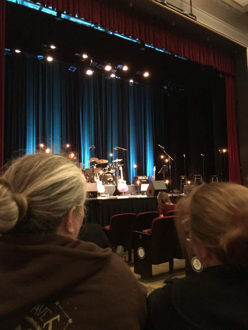 Seating view for Marines' Memorial Theatre Section Orchestra Row F Seat 5