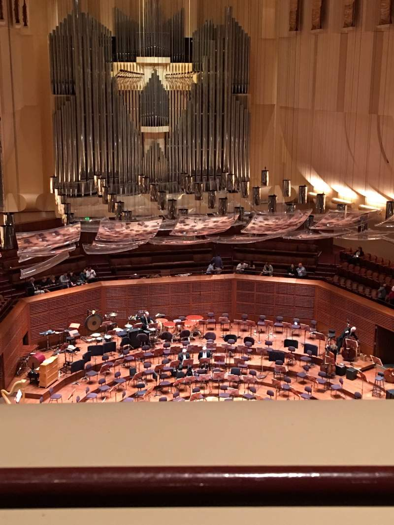Seating view for Davies Symphony Hall Section 2nd Tier DD Row A Seat 113