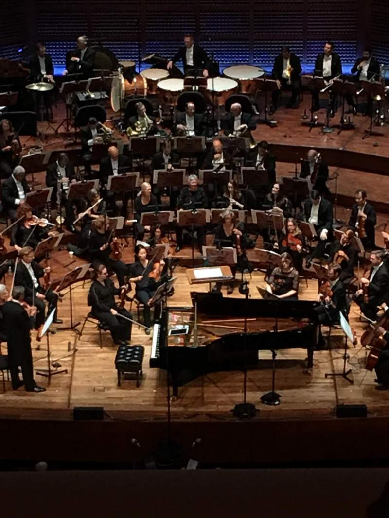 Seating view for Davies Symphony Hall Section 2nd Tier EE Row B Seat 107