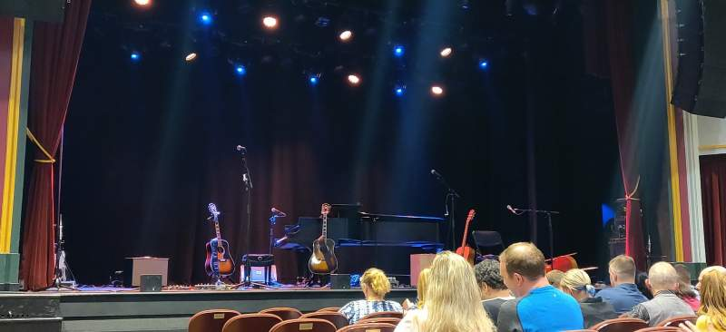 Seating view for Capitol Theatre (Clearwater) Section Orchestra Row S Seat 20
