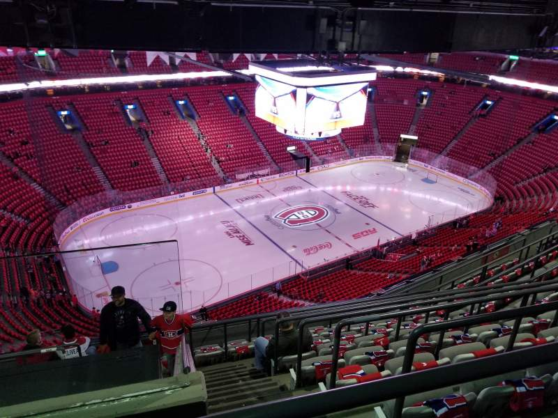 Seating view for Centre Bell Section 304 Row D Seat 21