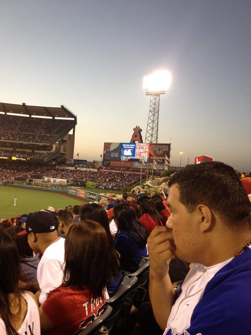 Seating view for Angel Stadium Section P237 Row L Seat 4